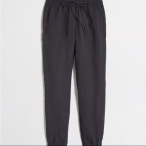J.Crew Drapey Pull On Pants 4 Drawstring Cropped